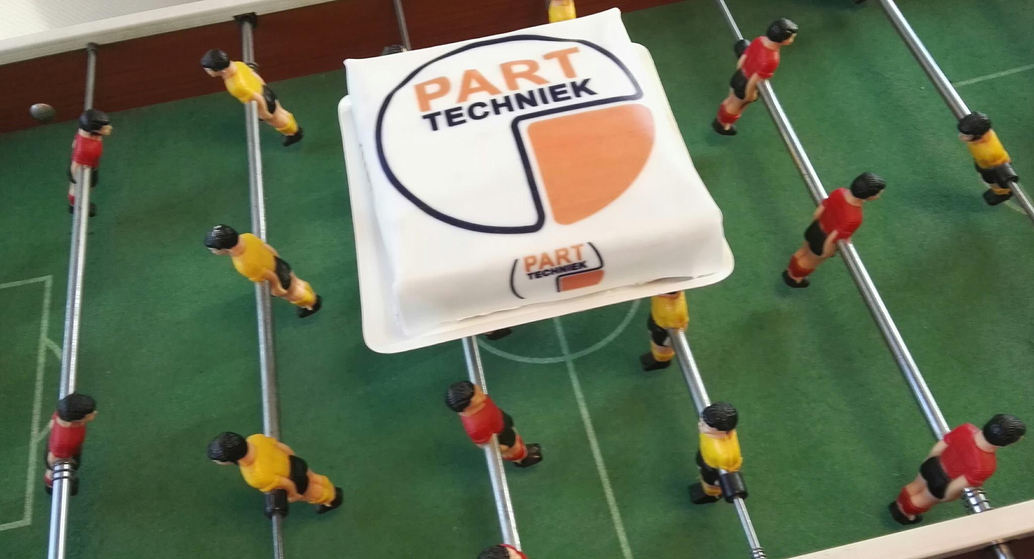 Heerlijke PART Techniek taart!