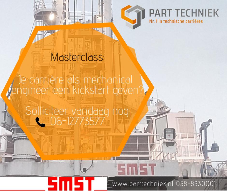 Traineeship SMST – PART Techniek