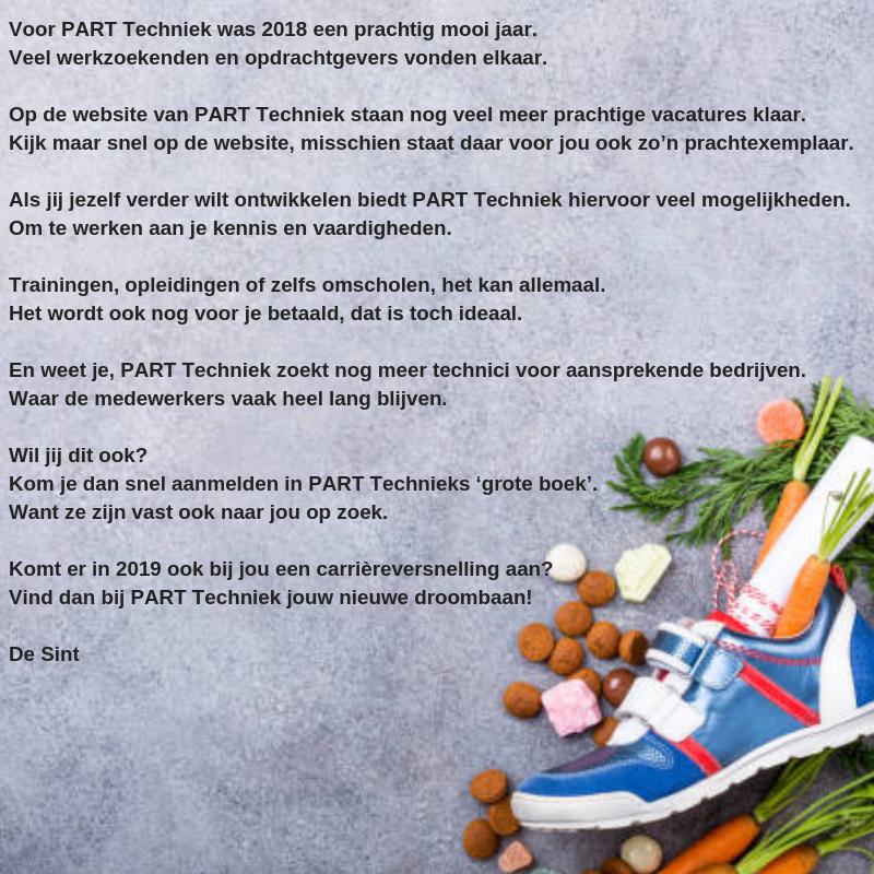 Sinterklaas Gedicht PART Techniek