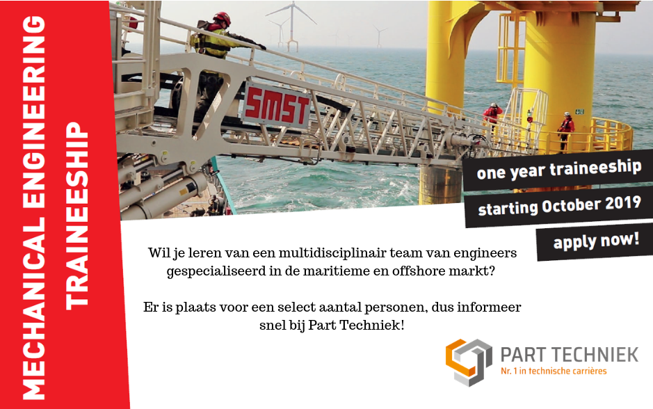 Traineeship Mechanical engineering – Drachten