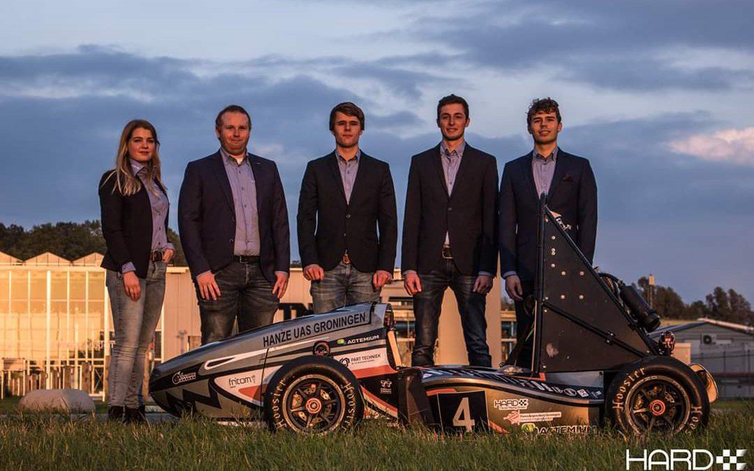 Nieuw bestuur Hanze Racing Division