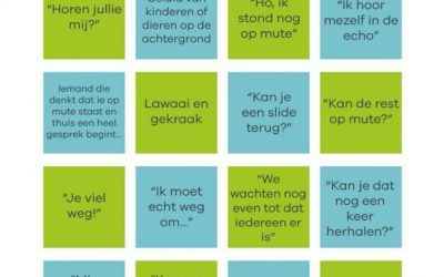 De 'thuiswerk video call' bingo!